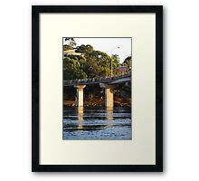 One World above, another below. Framed Print