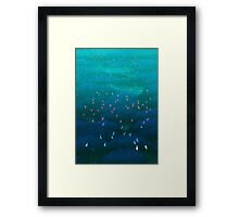 Amazonian Flight Framed Print