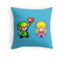 Zelda & Link Throw Pillow