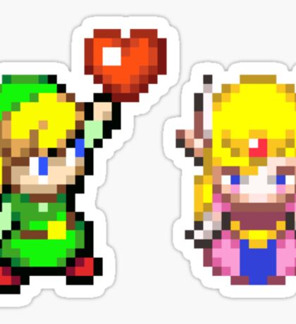 Zelda & Link Sticker