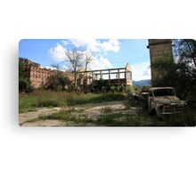 Ruins and Rust Canvas Print