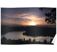 Highlands Sunset Poster