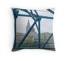 Cleveland CityScape 2010-02 Throw Pillow