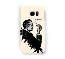 Politics and Weed - Sweet - Politician Smoking Weed Pot Marijuana Hemp T Shirts Stickers and Art Samsung Galaxy Case/Skin