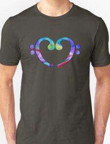 Music Heart  Notes Unisex T-Shirt