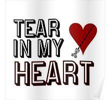 Twenty One Pilots - Tear in My Heart Poster