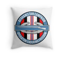 Operation Enduring Freedom Throw Pillow
