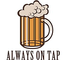 Draft Beer: Always on Tap Photographic Print