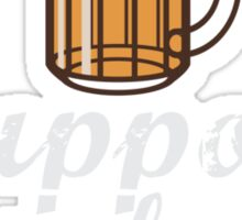Drink Local Beer: Support Your Local Brewery Sticker