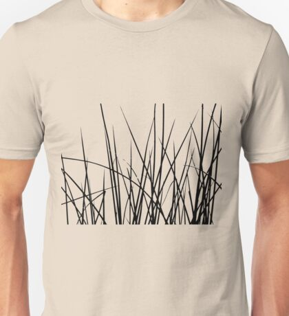 Water grass (black) (T-Shirt) Unisex T-Shirt