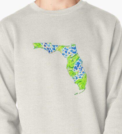 Preppy Gator Florida Pullover