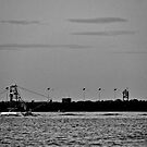 Boat on the Hunter River IV.  by Emily Jane