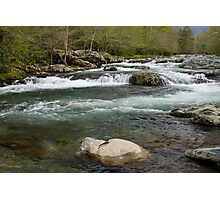 Middle Prong Little Pigeon River Photographic Print