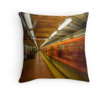 "Too bad, you are not ""high"" enough to see the rabbit. Throw Pillow"