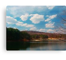 Parker Dam in Spring Canvas Print
