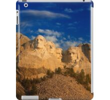 Sunrise over Mount Rushmore National Memorial iPad Case/Skin