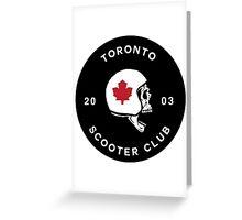 Toronto Scooter Club Greeting Card