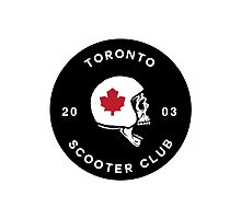 Toronto Scooter Club Photographic Print