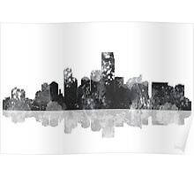 Jersey City New Jersey Skyline Poster