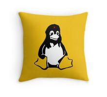 Linux tux Penguin Che  Throw Pillow