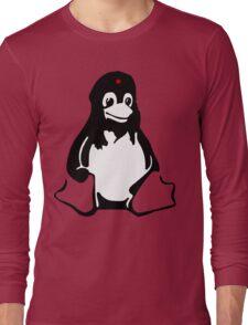 Linux tux Penguin Che  Long Sleeve T-Shirt