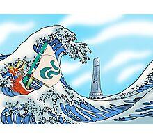 Zelda: WindWaker - Great Wave Photographic Print