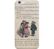 The Queen of Pirate Isle Bret Harte, Edmund Evans, Kate Greenaway 1886 0058 We Will iPhone Case/Skin
