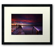 Mona Vale Rockpool Framed Print