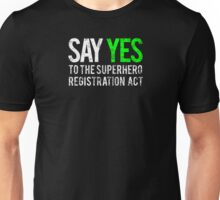 Civil War - Say Yes - White Dirty Unisex T-Shirt