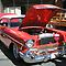 RED & WHITE CLASSIC CARS