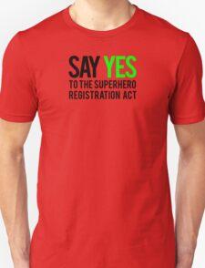 Civil Way - Say Yes - Black Clean Unisex T-Shirt