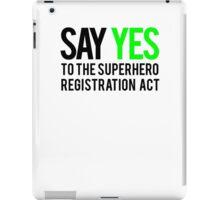 Civil Way - Say Yes - Black Clean iPad Case/Skin
