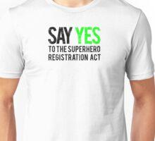 Civil War - Say Yes - Black Dirty Unisex T-Shirt