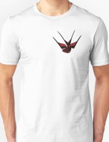 Red Swallow Tattoo T-Shirt