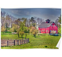 Living on the Farm Poster