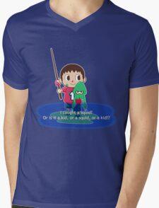 Fishing for Ink Mens V-Neck T-Shirt