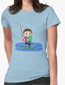 Fishing for Ink Womens Fitted T-Shirt