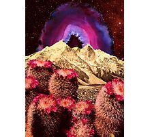 Cactus Mountain Photographic Print