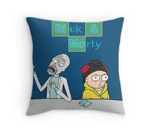 Breaking Morty Throw Pillow