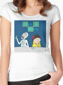 Breaking Morty Women's Fitted Scoop T-Shirt