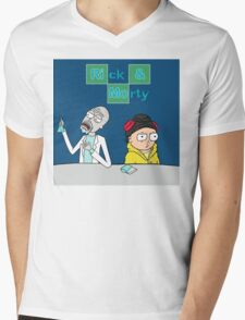 Breaking Morty Mens V-Neck T-Shirt