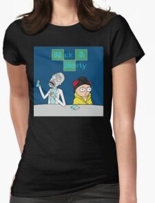 Breaking Morty Womens Fitted T-Shirt