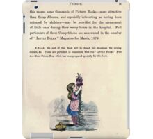 The Little Folks Painting book by George Weatherly and Kate Greenaway 0015 Preface iPad Case/Skin