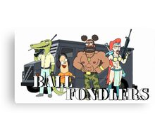Ball Fondlers Canvas Print