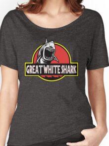 Great White Shark Jurassic Parody T Shirt Women's Relaxed Fit T-Shirt