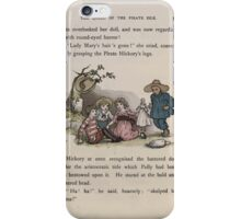 The Queen of Pirate Isle Bret Harte, Edmund Evans, Kate Greenaway 1886 0041 The Doll iPhone Case/Skin