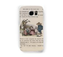 The Queen of Pirate Isle Bret Harte, Edmund Evans, Kate Greenaway 1886 0041 The Doll Samsung Galaxy Case/Skin