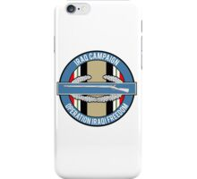 Iraq Campaign CIB iPhone Case/Skin