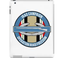 Iraq Campaign CIB iPad Case/Skin