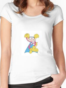 Diva Dynamite Flying Women's Fitted Scoop T-Shirt